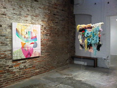 Andrew Holmquist and Mike Andrews at Jolie Laide Gallery