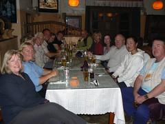 Last dinner in UB (jayselley) Tags: city asia capital september mongolia ulaanbaatar exodus 2010 ulanbator mongol capitalcity redhero mongolianadventure