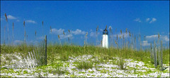 CAPE ST GEORGE LIGHT... (photogtom43) Tags: gulfofmexico lighthouses florida sanyo stgeorgeisland capestgeorgelight me2youphotographylevel1