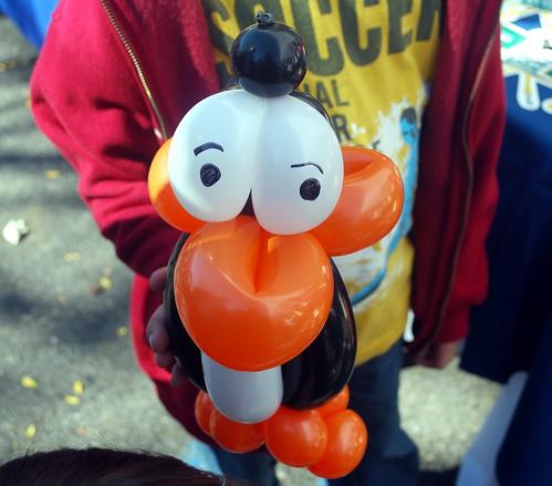 Penguin Balloon Animal