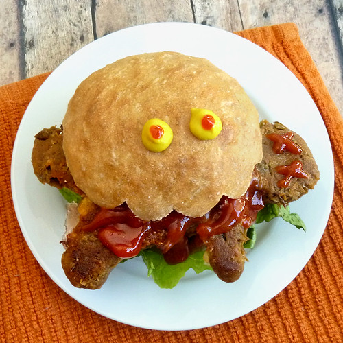 Halloweegan Dead Man Burger
