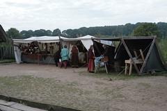 Vikingr-Kontor auf dem 2. Herbstmarkt in Haithabu Wikinger Museum WHH - 03-10-2010