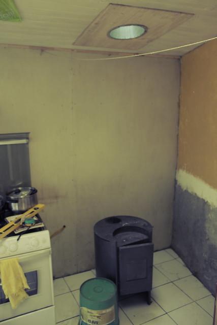 nuestro estufa nueva