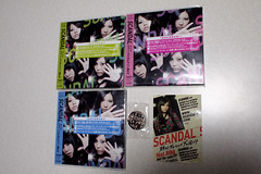 SCANDAL A,B,C+ feat.RINA+ (Kevin Lee HK) Tags: cd scandal