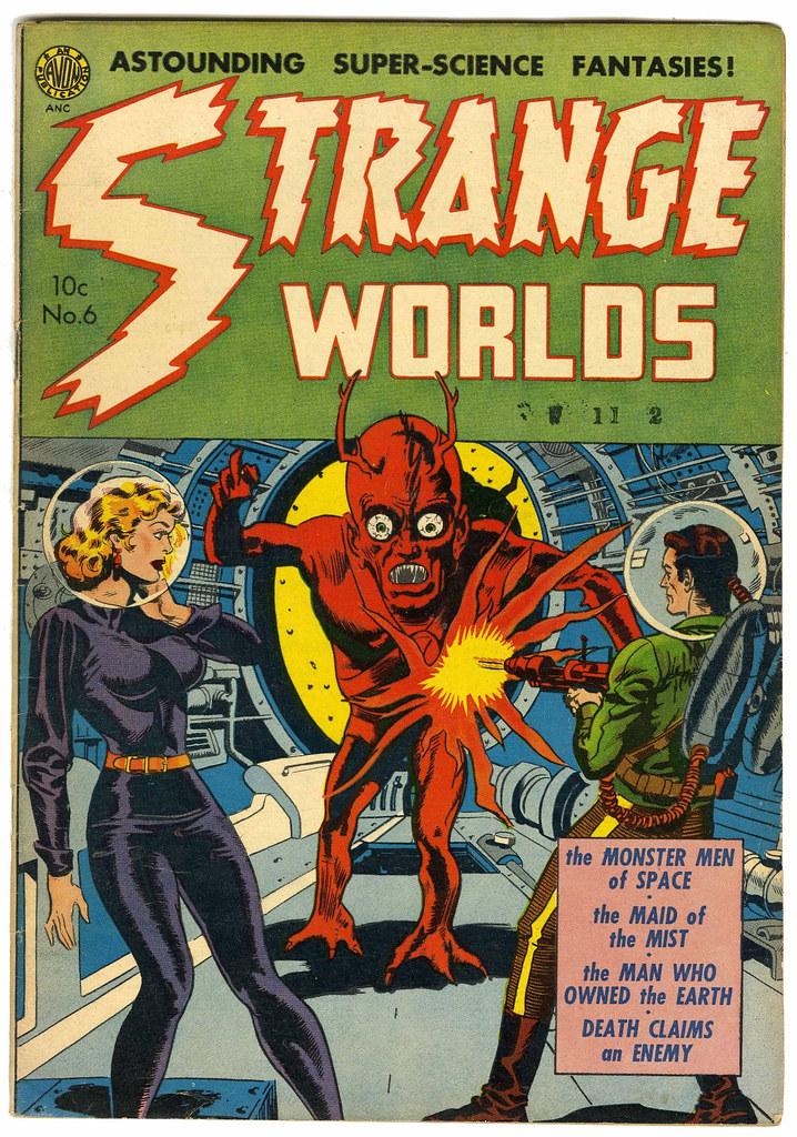 Strange Worlds #6 (Avon)