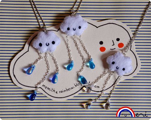 Raining Cloud necklace