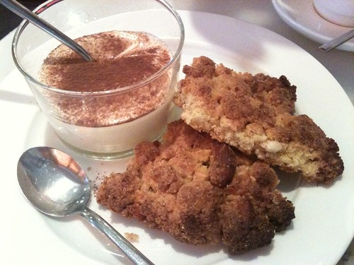Caffe dei Cioppi: Sbrisolina with mascarpone cream