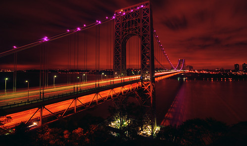 Breast Cancer Awareness @ the George Washington Bridge