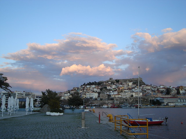Sunset in Kavala