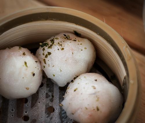 dim sum charlie's // shrimp dumpling