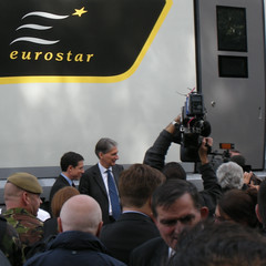 Transport Secretary (Martin Deutsch) Tags: eurostar siemens e320 siemensvelaro philiphammond eurostar320