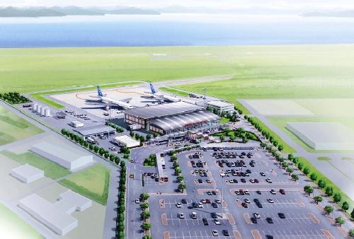 岩国空港 完成予想図
