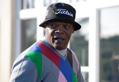 Samuel L. Jackson (leonharris) Tags: golf standrews 2010 kingsbarns dunhilllinkschampionships
