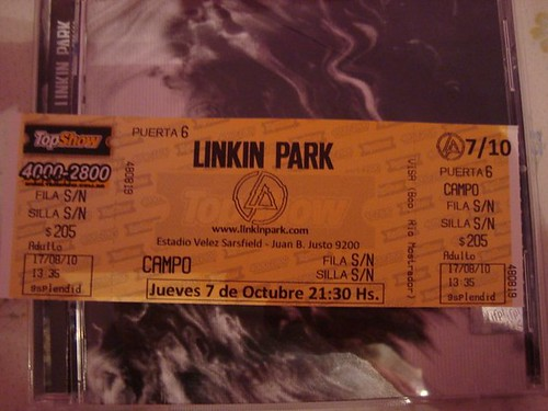 Linkin Park en Buenos Aires -6
