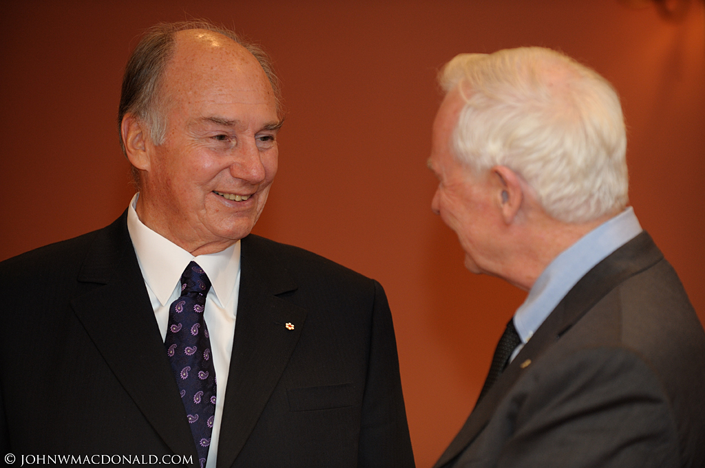 Governor General Welcomes His Highness the Aga Khan at Rideau Hall 6200