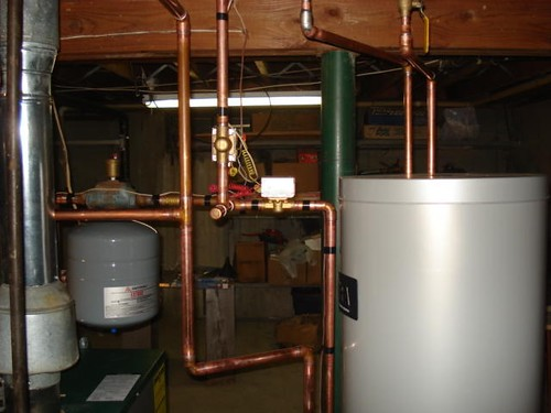 AFTER: High-Efficiency Indirect-Fired Water Heater
