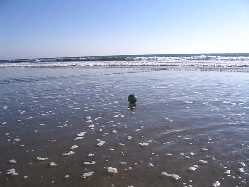Farewell, WMAP (beach ball)