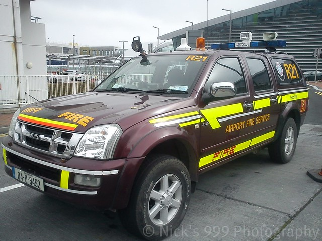 fire 4x4 apron vehicle service patrol isuzu dmax