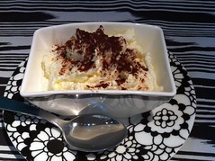 Disappointing tiramisu at Edinburgh's Missoni hotel (Cucina restaurant)