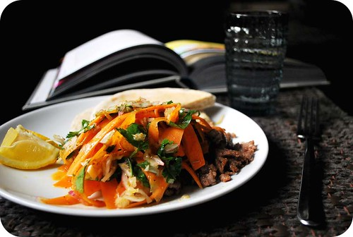 Middle Eastern Carrot & Lamb Salad II