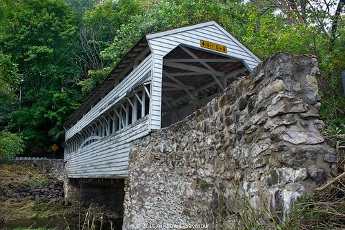 Knox-Valley Forge Covered Bridge (Long Low Angle) hdr 06