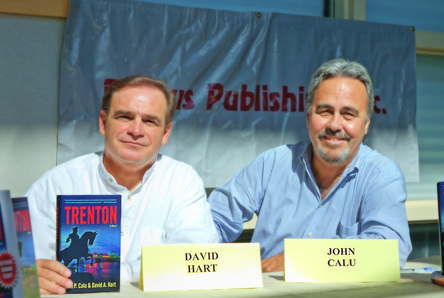 David A. Hart and John P. Calu, authors of Trenton.