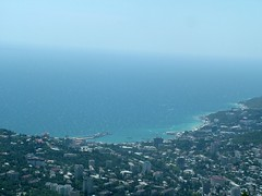 for a lifetime ♡ (elena-tokareva) Tags: city summer beautiful town pretty ukraine fromabove fujifilm crimea yalta ялта крым украина