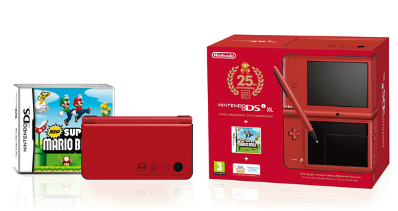 New Super Mario DSi XL Special Edition Pack