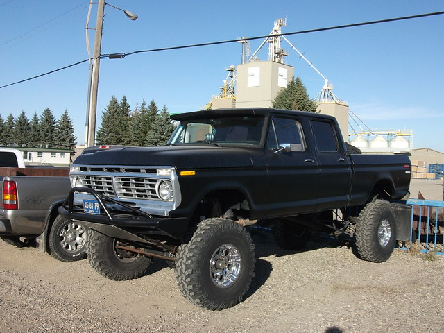 ford truck 1974 cab crew 1975 1973 f250