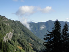 View from Ipsut Pass.