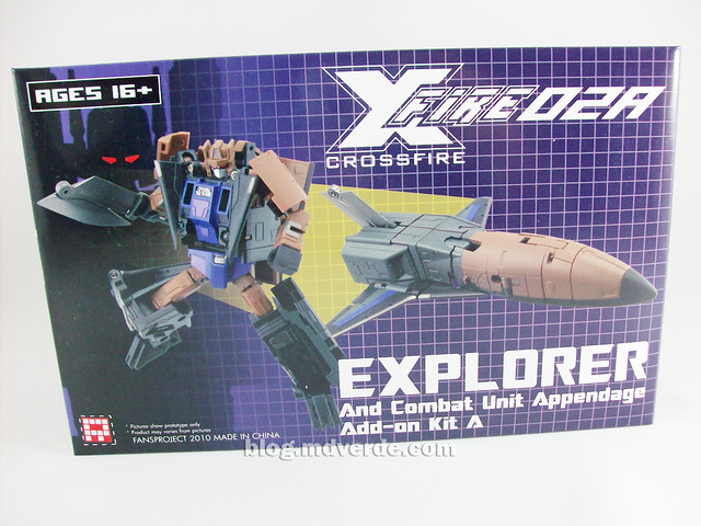 Transformers Explorer (FansProject Crossfire) - caja