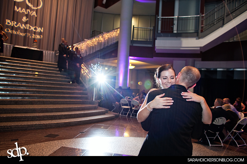Town Pavilion Kansas City wedding reception photographer