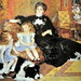 -81- Madame Georges Charpentier et ses enfants (1878) Huile sur toile - 153,6 X 190cm - Renoir - Metropolitain Museum d'Art, New-York.