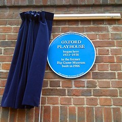 Photo of Oxford Playhouse blue plaque