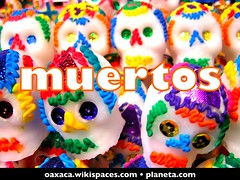 muertos (day of the dead in oaxaca, mexico)