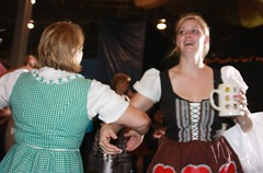 IMG_9296 (jayinvienna) Tags: dulles oktoberfest dirndl chickendance germanbeernight germanbeernight2010