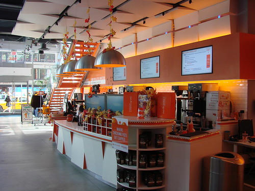 Inside ING cafe