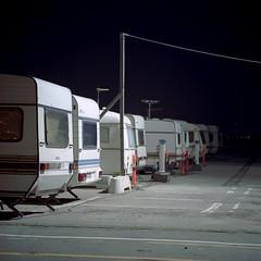 Caravans (claus peder) Tags: 120 6x6 film analog denmark kodak release cable ps bronica caravan portra aarhus c41 180mm 400nc sqai zenza zenzanon autaut