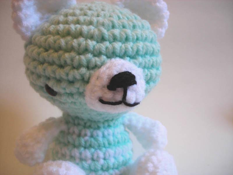 Amigurumi Urso Azul - Irmãs Sampaio | 600x800