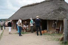 Händler auf dem Sommermarkt in Haithabu WHH 21-08-2010