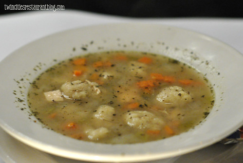Chicken and Dumpling Soup at Gordy's Steakhouse ~ Mahtomedi, MN