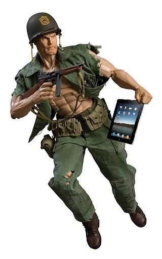 U.S. Army Attack iPads