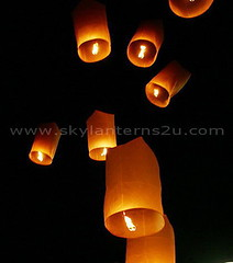 Sky Lanterns, Flying Lanterns, Chinese Lanterns, Fire Lanterns. by skylanterns2u