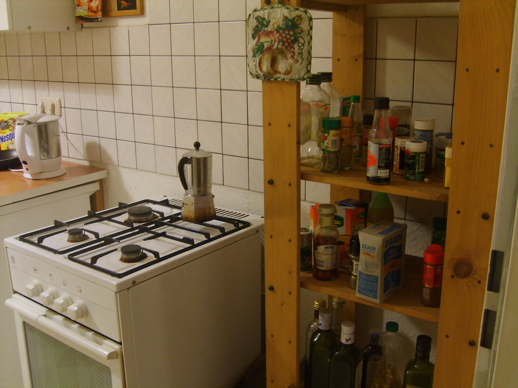 A classic view from a Berliner kitchen