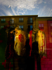 (rogerwshaw) Tags: reflections mannequins diesel creepy windowreflections thedomain