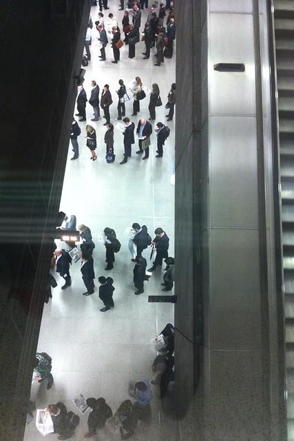 iphone queue photo by richard forward