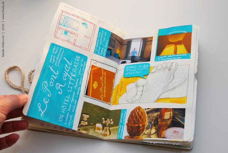 Travel book, Paris 2010
