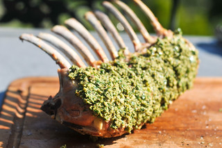 Mustard and Herb-Crusted Rack of Lamb