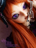 [MNF DES] Meg (Kikyô) Tags: rock dark de violet elf wig bjd soo taches maquillage monique balljointeddoll kikyo mnf minifée rousseurs mnfdes keyclés dolldollspoupéefairyland kikyomakeup kdollcustom