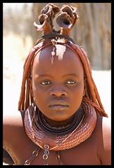 Himba woman (Bart Kok) Tags: africa african culture tribal safari afrika tribe ethnic namibia tribo himba afrique ethnology tribu namibie tribus sadlook ethnie himbawoman